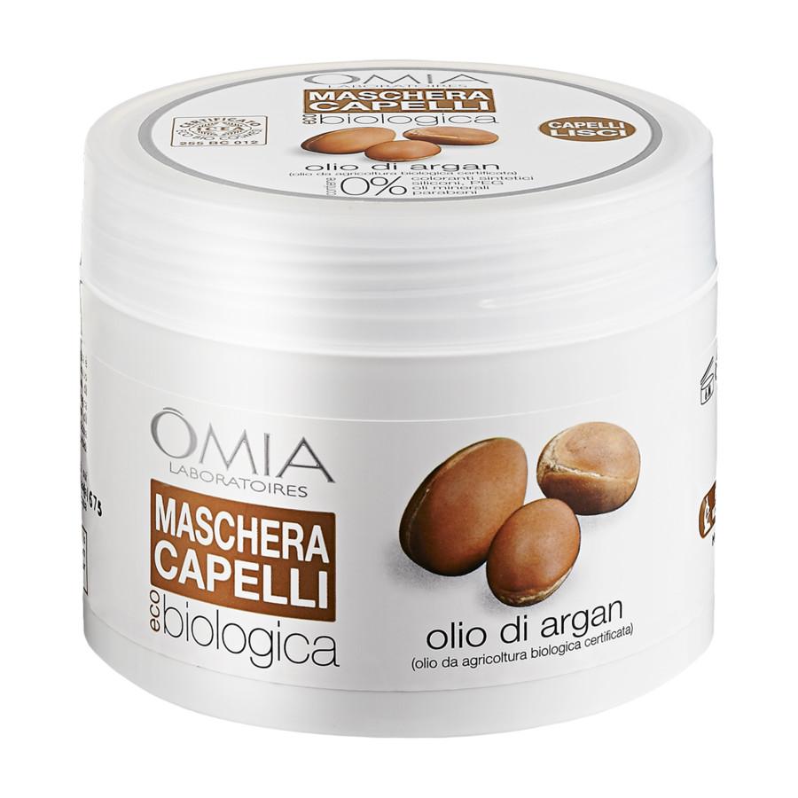 Image of Omia Maschera Capelli Olio di Argan 250 ml 8021983810129