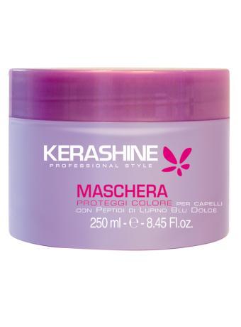 Image of Kerashine Maschera Proteggi Colore con Peptidi di Lupino Blu Dolce 250 ml 8000836242720