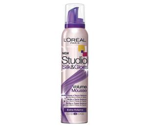 Image of Studio Line Mousse Studio Line Silk&Gloss Extra Volume 150 Ml 3600520699523