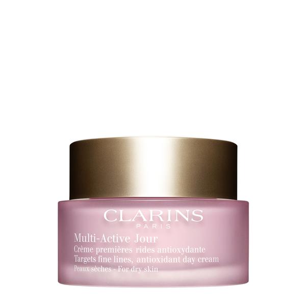 Image of Clarins Multi-Active Creme Jour Peaux Seches - Crema Viso Giorno Prime Rughe per Pelle Secca 50 ml 3380810045277