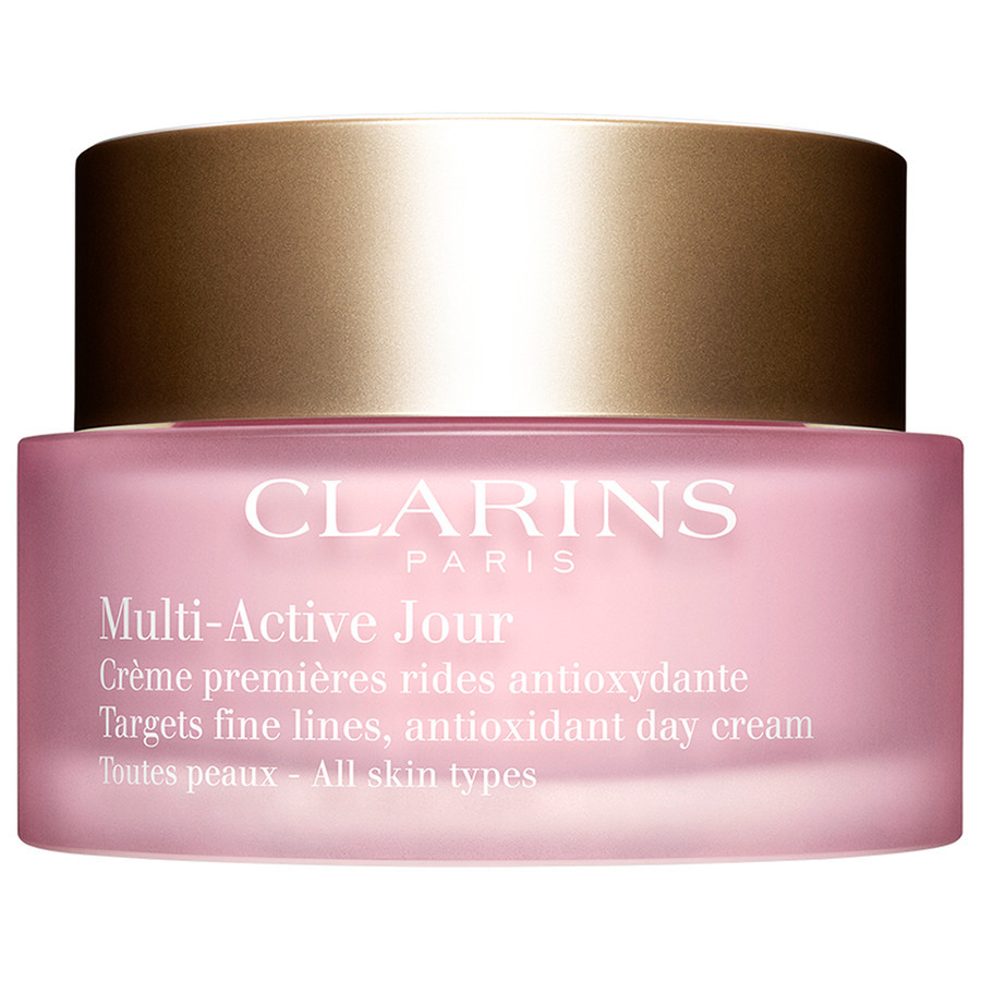 Image of Clarins Multi-Active Jour Toutes Peaux - Crema Viso Giorno Prime Rughe Tutti i Tipi di Pelle 50 ml + Sachet 3380810045239