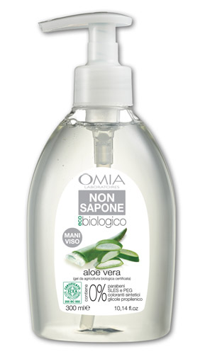 Image of Omia Non Sapone Viso Mani Aloe Vera 300 ml