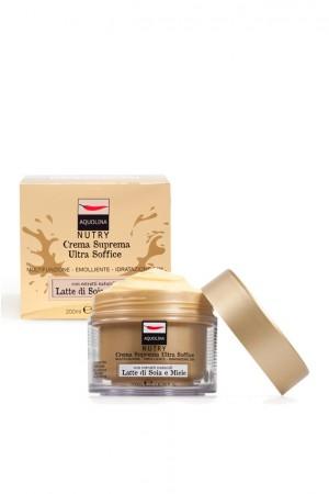 Image of Aquolina Nutry Crema Suprema Latte di Soia e Miele 200 ml 8004995634631