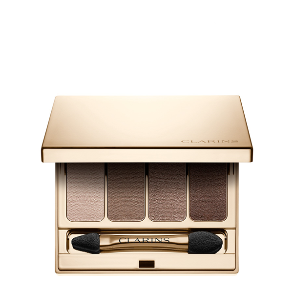 Image of Clarins Palette 4 Couleurs - Palette Ombretti 03 Brown 3380810060492