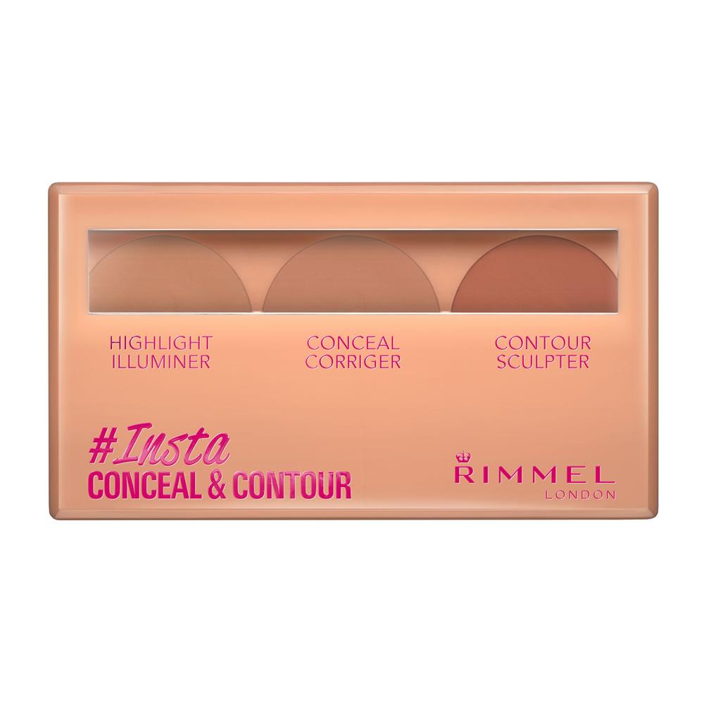 Image of Rimmel Palette Insta Conceal&Contour 3614223355709