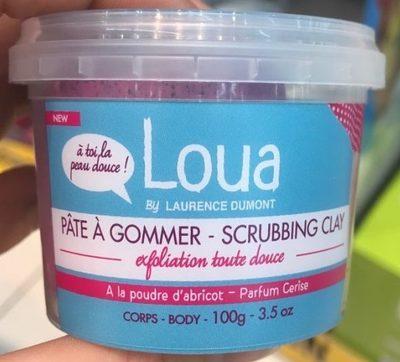 Image of Loua Pasta scub all'albiccocca esfoliazione dolce 100 g 3450270016862