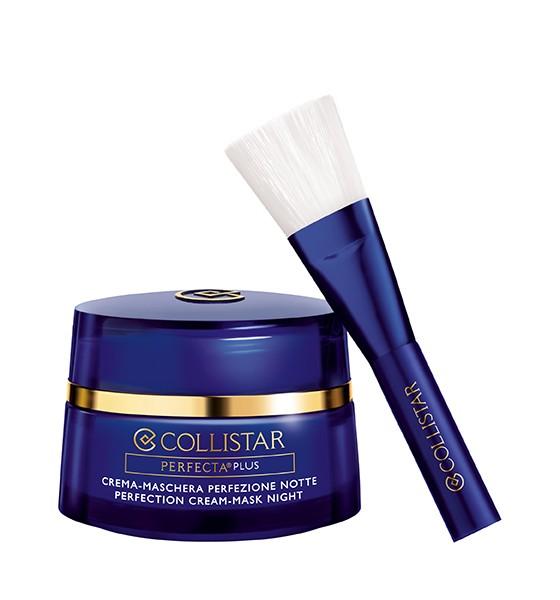 Image of Collistar Perfecta Plus Crema-Maschera Perfezione Notte 50 ml + Pennello 8015150245548