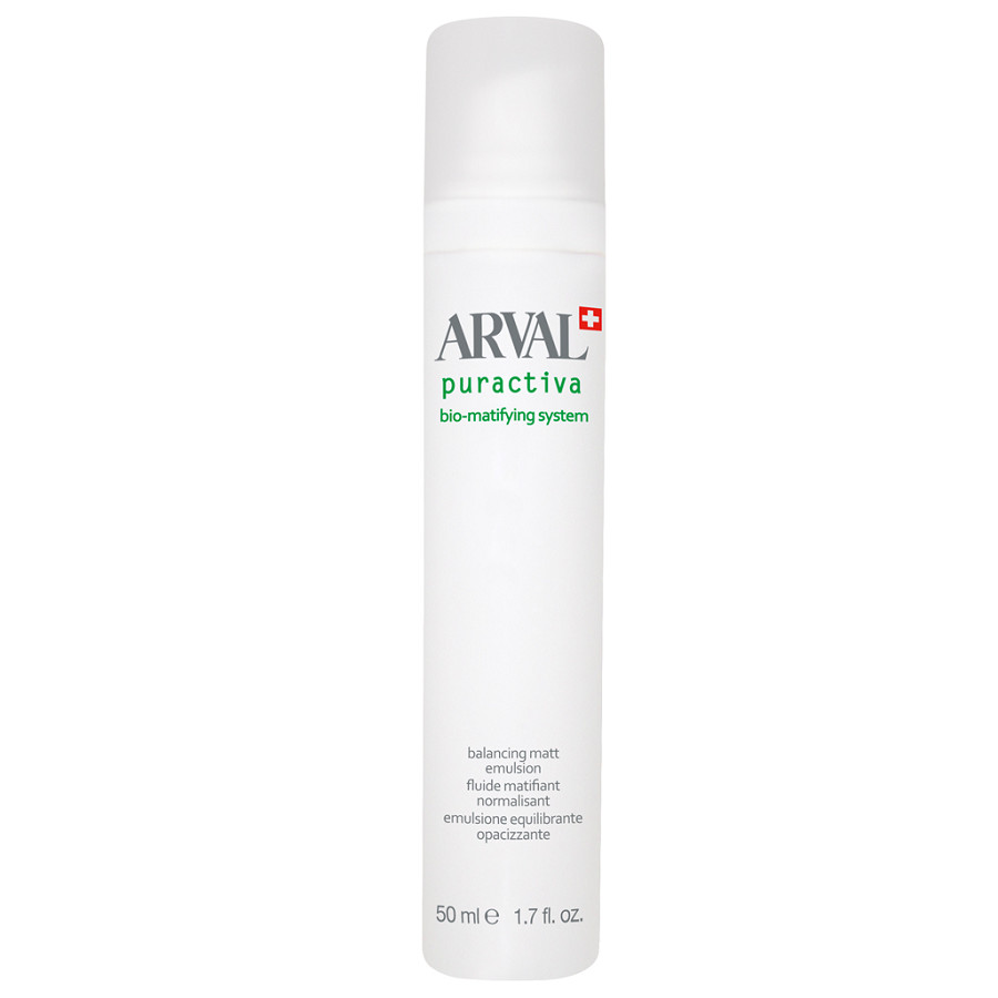 Image of Arval Puractiva Bio-Matifying System - Emulsione Equilibrante Opacizzante 50 ml 8025935270047