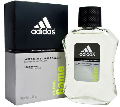Image of Adidas Pure Game - After Shave 100 ml 3607345216713