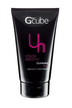 Image of Gcube Quickcolor - Maschera Colore Rapido 150 ml Gold 8054181910377