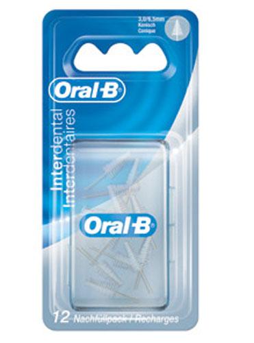 Image of Oral-B Ricambio Set Interdentale Scovolino Conico 6,5 mm 3014260779351