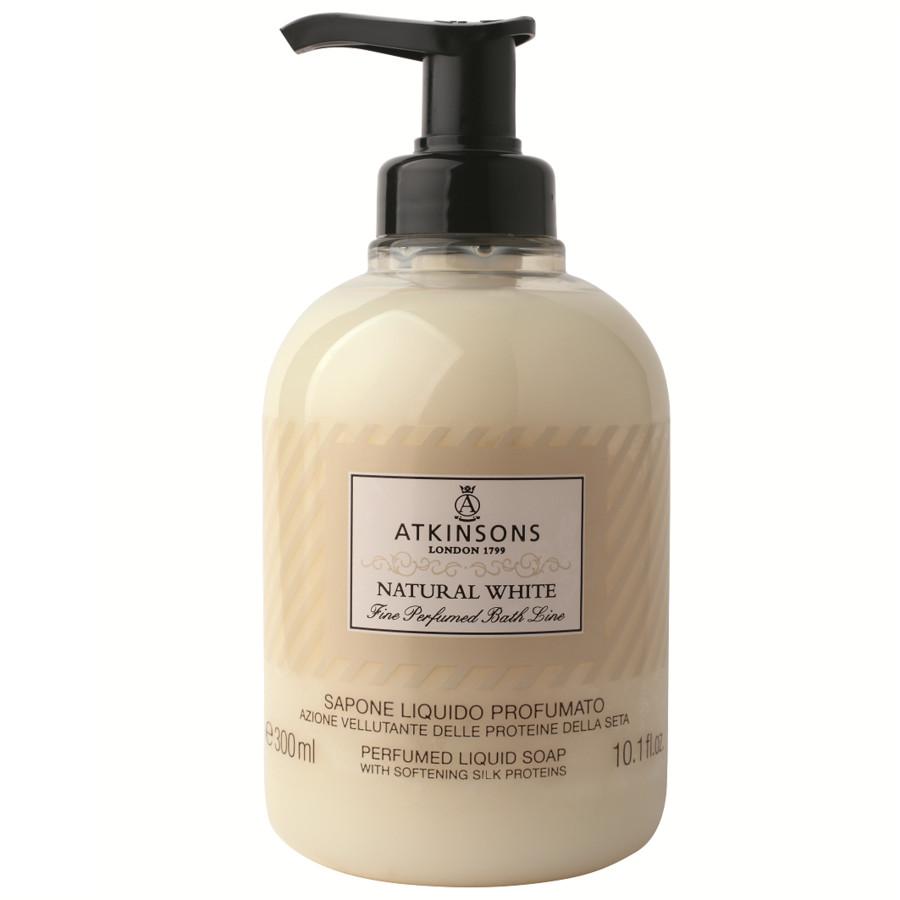 Image of Atkinsons Sapone Liquido Natural White 300 ml 8002135109711