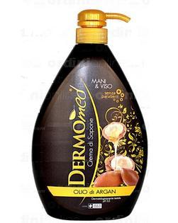 Image of Dermomed Sapone Liquido Olio di Argan 1000 ml 8032680390807