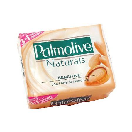 Image of Palmolive Sapone Solido Con Latte Di Mandorla Naturals Sensitive 100 G  4 Saponette
