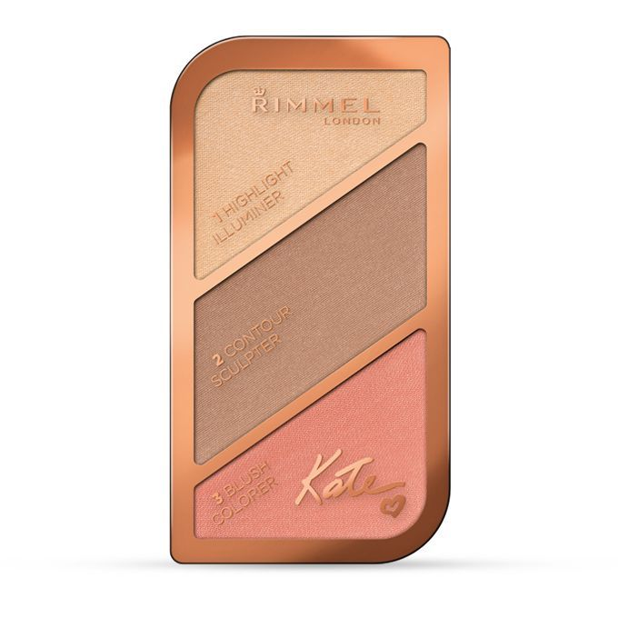 Image of Rimmel Sculpting Palette by Kate 002 Coral Glow 3614221105450