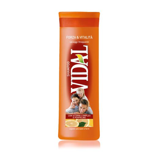 Image of Vidal Shampoo Forza & Vitalita' 250 ml 8008970011639