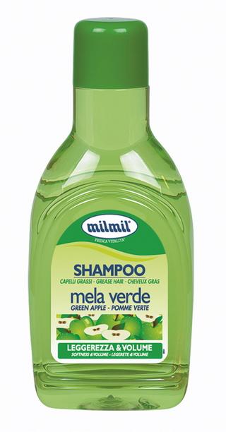 Image of Mil Mil Shampoo Per Capelli Grassi Purificante Alla Mela Verde 1000 Ml 8004120120060