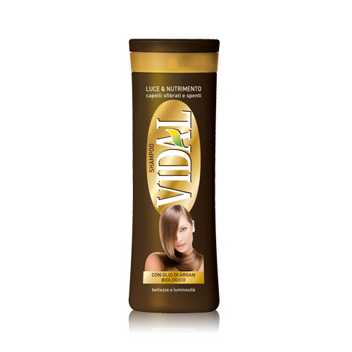 Image of Vidal Shampoo all'Olio di Argan 250 ml 8008970037721