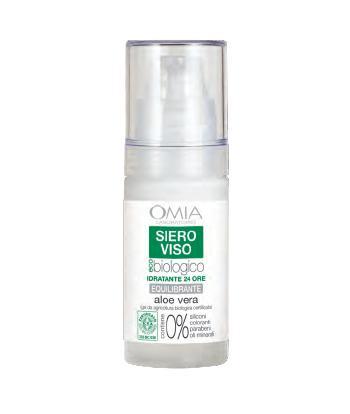 Image of Omia Siero Viso Idratante Aloe Vera 30 ml 8021983810518