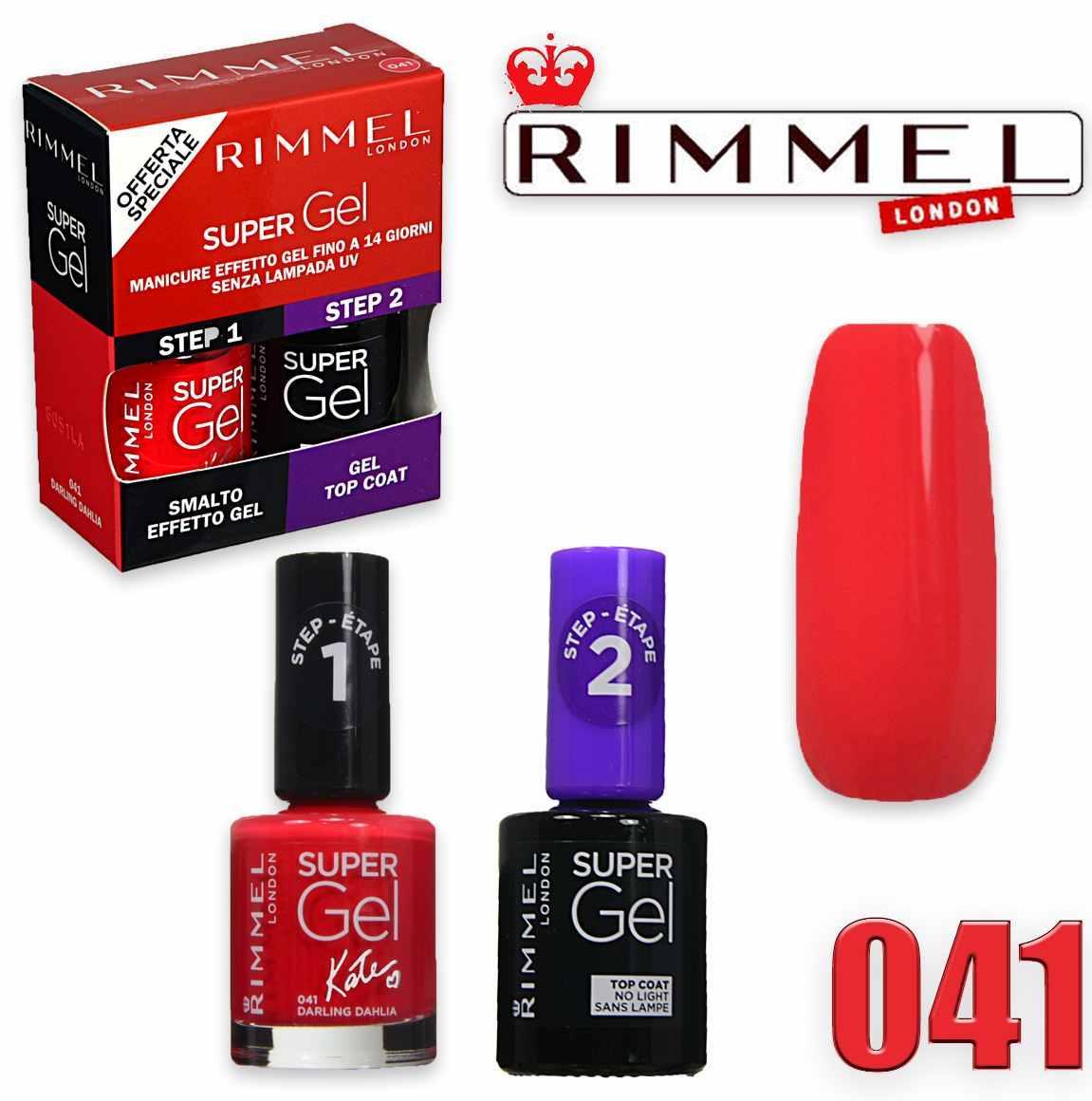 Image of Rimmel Smalto super gel duo kit 41 3614226933065