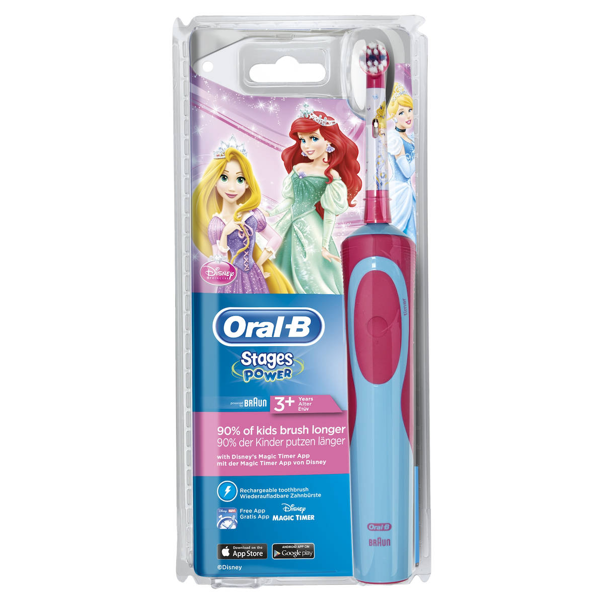Image of Oral-B Spazzolino Elettrico Kids Princess 4210201128526