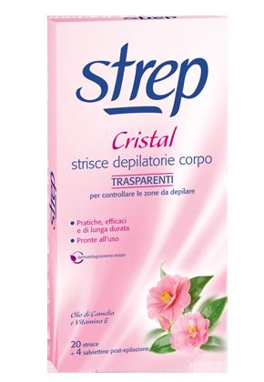 Ideabellezza.it: Strep Strisce Depilatorie Per Il Viso Cristal 20 Strisce