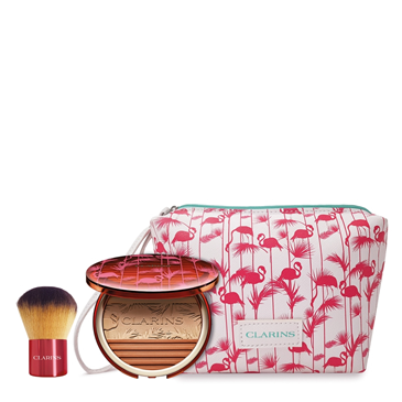 Image of Clarins Summer Look terra + Pennello + Trousse 3380810306637