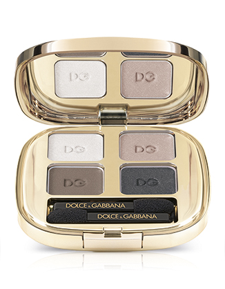Image of Dolce&Gabbana The Eyeshadow Quad - Palette Ombretti 100 Feme Fatale 0737052453811