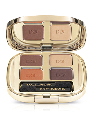 Image of Dolce&Gabbana The Eyeshadow Quad - Palette Ombretti 115 Cocoa 0737052960081