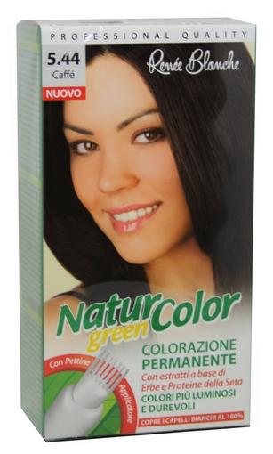 Tinta Per Capelli Colorazione Permanente Naturale Natur Color Green 544  Caffe  dfc1e8e2096b