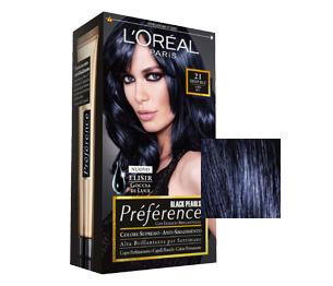 Shampoo colorante nero su capelli castani