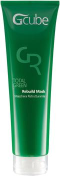 Image of Gcube Total Green Rebuild Mask - Maschera Ristrutturante per cute e capelli sensibili 150 ml 8054181910247