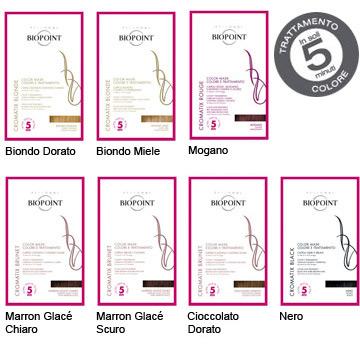 Image of Biopoint Trattamento Colorante Cromatix Maschera Trattamento Colore In 5 Minuti 30 Ml Cioccolato Dorato 8051772480592