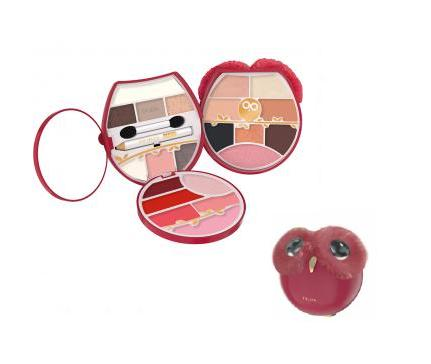 Image of Pupa Trousse Owl 4 N.003 Rosso