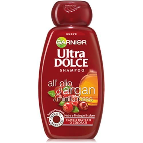 Image of Garnier Ultra Dolce shampo Olio di Argan e mirtillo rosso 300 ml 3600542154550