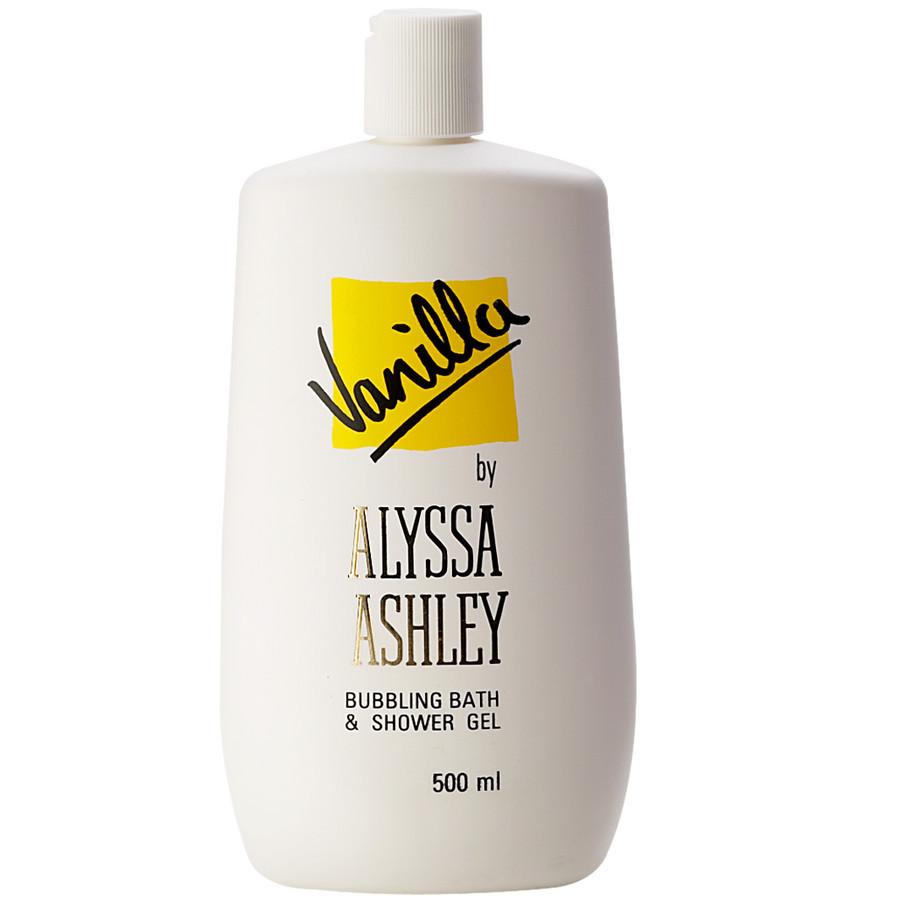 Image of Alyssa Ashley Vanilla Bath & Shower Gel - Gel Doccia 500 ml 3434730775834