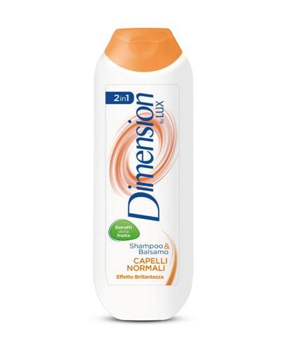Image of Dimension by Lux 2in1 Shampoo & Balsamo Capelli Normali 250 ml 8710447174692