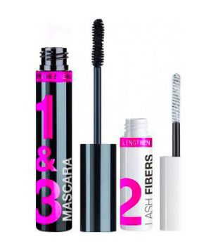 Lash-O-Matic Fiber Extension Kit Mascara