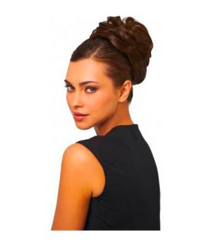 Style-a-do + Mini-do - 2 Elastici Extension per Acconciature R4 Castano Scuro