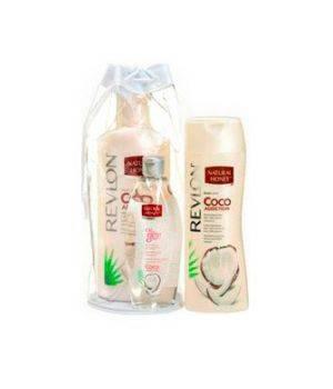 Summer Bag Cocco - Body Lotion 330 ml + Shower Gel 650 ml + Olio Copro 300 ml