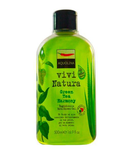 Vivi Natura Bagnoschiuma Green Tea Harmony 500 ml