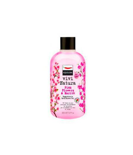 Vivi Natura Bagnoschiuma Pink Flowers Karitè 500 ml