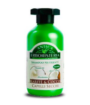 Shampoo Per Capelli Secchi Nutriente Karite' & Cocco 250 Ml