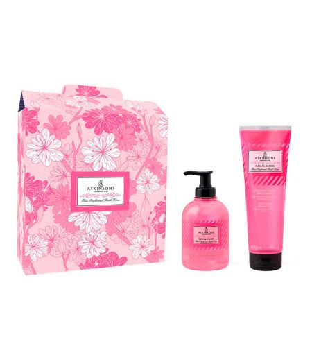 Cofanetto Fine Perfumed Bath Line Regal Musk - Liquid Soap 300 ml + Shower Gel 250 ml