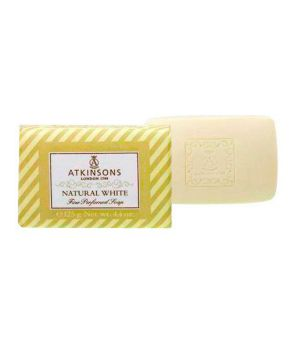 Fine Perfumed Soaps Sapone Natural White 125 gr