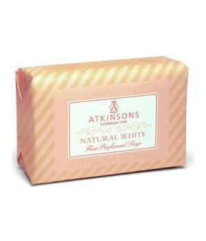Fine Perfumed Soaps Sapone Natural White 200 gr