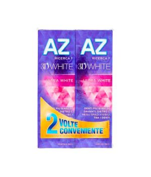 Dentifricio 3D White Ultra White 2x75 ml
