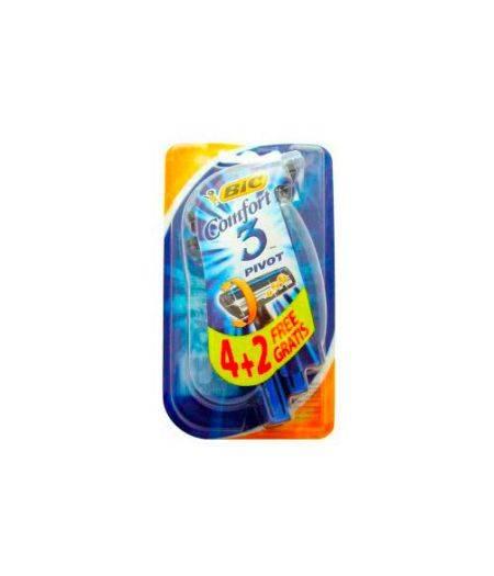 Rasoio Da Barba Comfort 3  4+2pz
