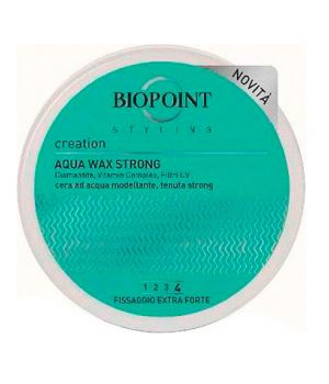 Aqua Wax Strong - Cera Modellante Capelli 100 ml