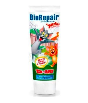 Dentifricio Per Bambini Tom & Jerry Senza Fluoro Oral Care Junior  75 Ml